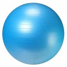 Мяч для фитнеса 55 см. (фитбол) LiveUp Ani-Burst (синий)