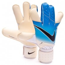Вратарские перчатки Nike GK Grip3 White Blue