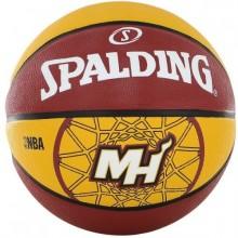 Баскетбольный мяч Spalding TEAM MIAMI HEAT