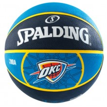 Баскетбольный мяч Spalding NBA OKLAHOMA CITY THUNDER