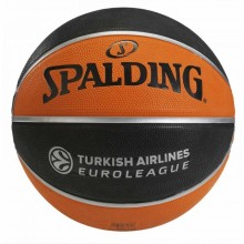 Баскетбольный мяч Spalding TF-150 Turkish Airlines Euroleague