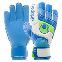 Вратарские перчатки Uhlsport Fangmaschine Starter Soft Blue