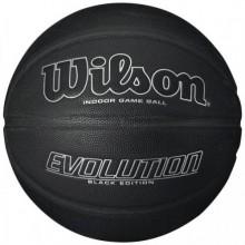 Баскетбольный мяч Wilson Evolution Black SS16