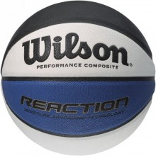 Баскетбольный мяч Wilson REACTION BLA/WHI/BLU TRAINING BALL SS14