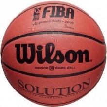 Баскетбольный мяч Wilson SOLUTION FIBA SZ5,6,7 BSK SS14