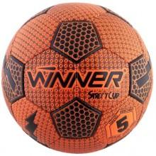 Мяч для футбола Winner Street Cup для игры на асфальте (оранжевый)