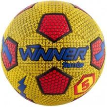 Мяч для футбола Winner Street Cup для игры на асфальте (жёлтый)