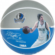 Мяч баскетбольный Spalding NBA Player Dirk Nowitzki Size 7