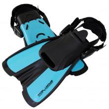 Ласты SportVida SV-DN0007JR-M Size 34-38 Black/Blue