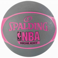 Баскетбольный мяч Spalding NBA Highlight 4Her (размер 6)