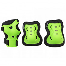 Комплект защитный SportVida SV-KY0001-L Size L Black/Green