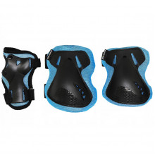 Комплект защитный SportVida SV-KY0005-L Size L Blue/Black