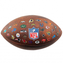 Мяч для американского футбола Wilson NFL Off ThrowBack WTF1758XBNF32