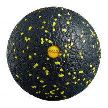 Массажный мяч 4FIZJO EPP Ball 12 4FJ0057 Black/Yellow