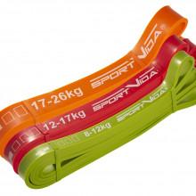 Эспандер-петля (резина для фитнеса и спорта) SportVida Power Band 3 шт 8-26 кг SV-HK0190-5