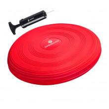 Балансировочная подушка (сенсомоторная) массажная Springos PRO FA0085 Red