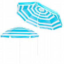 Пляжный зонт с регулируемой высотой и наклоном Springos 220 см BU0011