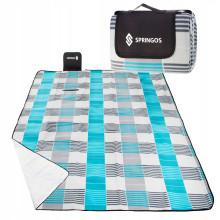 Коврик для пикника и кемпинга складной Springos 200 x 200 см PM002