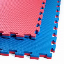 Мат-пазл (ласточкин хвост) 4FIZJO Mat Puzzle EVA 100 x 100 x 2 cм 4FJ0167 Blue/Red