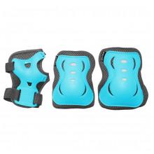 Комплект защитный SportVida SV-KY0008-M Size M Blue/Grey