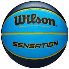 Баскетбольный мяч Wilson Sensation Blue (размер 7) WTB9118XB0702