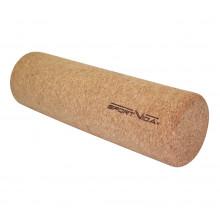 Массажный ролик (валик, роллер) из пробкового дерева SportVida 33 x 10 см SV-HK0315