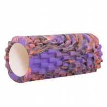Массажный ролик (валик, роллер) Springos Mix Color 33 x 14 см FR0019