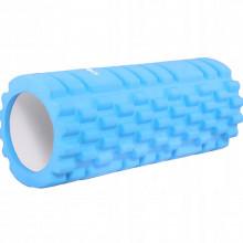 Массажный ролик (валик, роллер) Springos 33 x 14 см FR0014 Light Blue