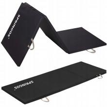 Мат гимнастический складной Springos 180 x 60 x 3 cм FA0060 Black