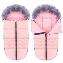 Детский конверт для коляски, санок 4 в 1 Springos SB0022 Pink