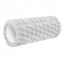 Массажный ролик (валик, роллер) Springos 33 x 14 см FR0020 Grey