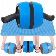 Ролик (колесо) для пресса с возвратным механизмом Springos AB Wheel FA5000 Blue/Black