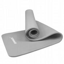 Коврик (мат) для йоги и фитнеса Springos NBR 1.5 см YG0041 Light Grey