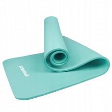 Коврик (мат) для йоги и фитнеса Springos NBR 1 см YG0031 Mint