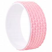 Колесо для йоги и фитнеса Springos Dharma YG0019 Pink/White