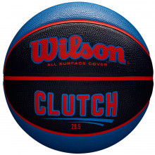 Баскетбольный мяч Wilson Clutch Black WTB14197XB07 (размер 7)