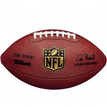 Мяч для американского футбола Wilson NFL DUKE GAME LEATHER OFFICIAL (арт. WTF1100)