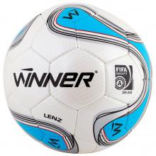Футбольный мяч Winner Lenz FIFA (бело-синий)