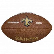 Мини-мяч для американского футбола Wilson NFL Team Logo Mini WTF1533XBNO (для детей до 10 лет)