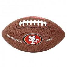 Мини-мяч для американского футбола Wilson NFL Team Logo Mini WTF1533XBSF (для детей до 10 лет)