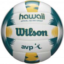 Волейбольный мяч Wilson AVP Hawaii Green WTH80119XB (для пляжного волейбола)