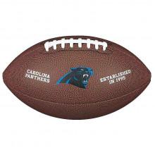 Мяч для американского футбола Wilson NFL Carolina Panthers WTF1748XBCA (размер 5)