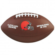 Мяч для американского футбола Wilson NFL Cleverland Browns WTF1748XBCL (размер 5)