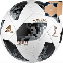 Мяч для футбола Adidas Telstar 18 WC Competition (размер 5)