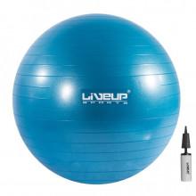 Мяч для фитнеса LiveUp Anti-Burst Ball - 55 см. с насосом