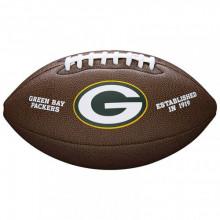 Мяч для американского футбола Wilson NFL Green Bay Packers WTF1748XBGB (размер 5)