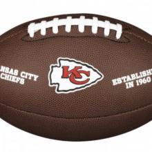 Мяч для американского футбола Wilson NFL Kansas City WTF1748XBKC (размер 5)