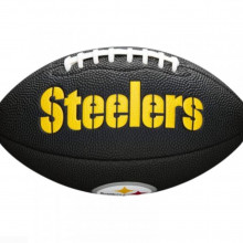 Мини-мяч для американского футбола Wilson NFL Team Logo Mini WTF1533BLXBPT (для детей до 10 лет)