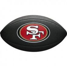 Мини-мяч для американского футбола Wilson NFL Team Logo Mini WTF1533BLXBSF (для детей до 10 лет)