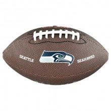 Мини-мяч для американского футбола Wilson NFL Team Logo Mini WTF1533XBSE (для детей до 10 лет)
